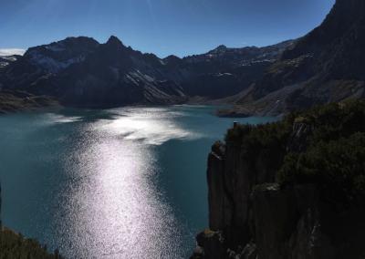 Cliffen bij de Lunersee