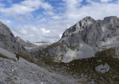 Aan de voet van de Sulzfluh