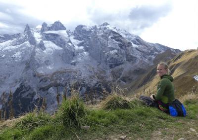 Uitzicht vanaf de Geisspitze