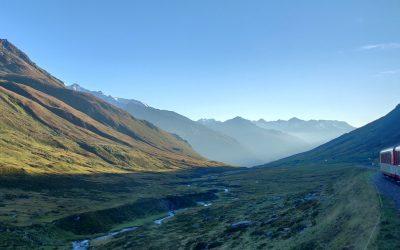 Duurzaam naar de bergen