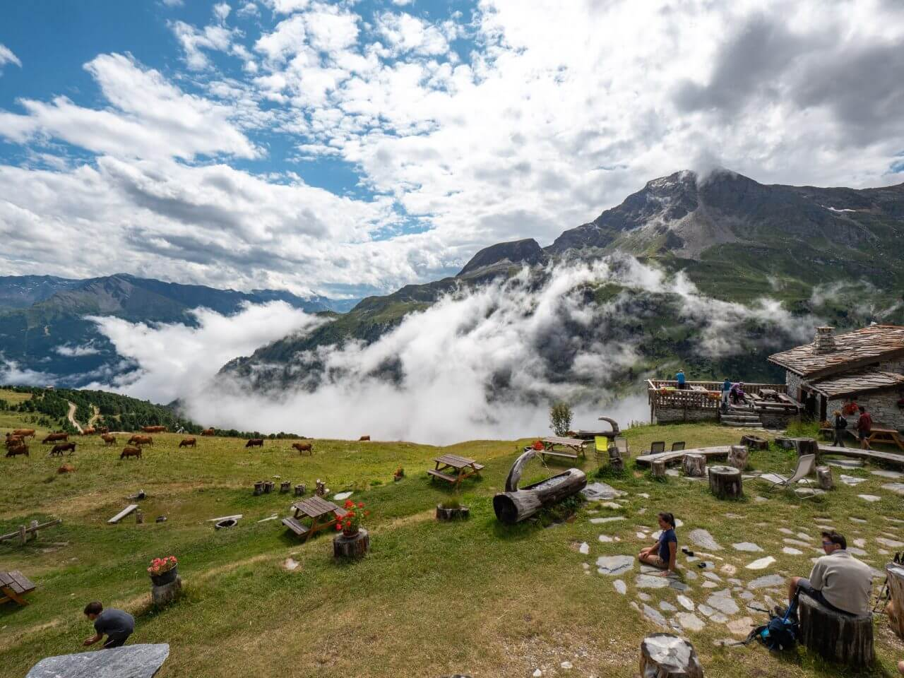 Berghutten in Frankrijk
