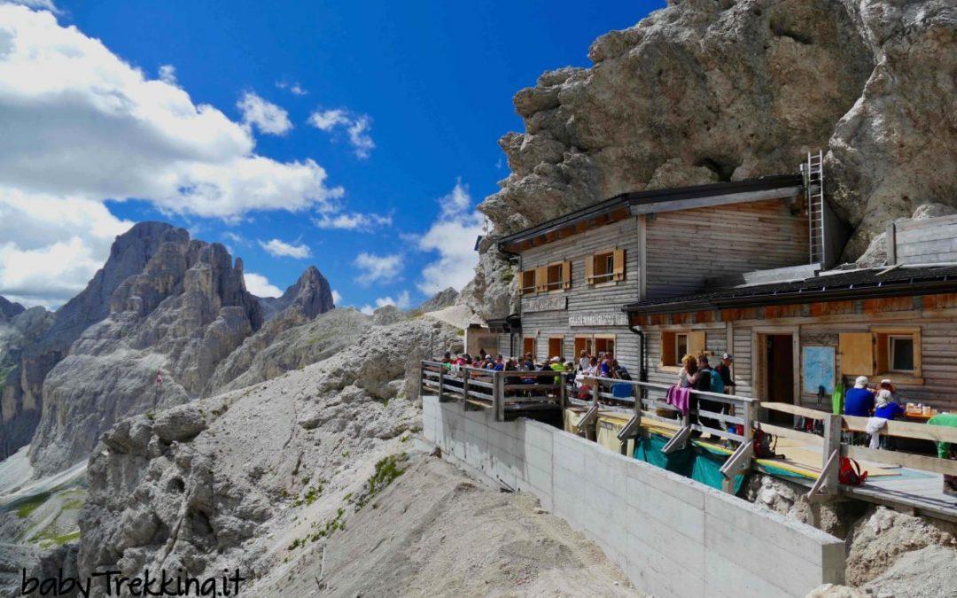 Berghut – Rifugio Passo Principe in de Dolomieten
